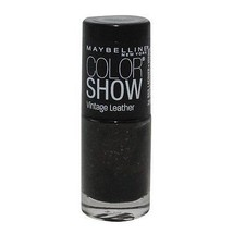 Maybelline Color Show Nail Polish Vintage Leather #875 Mod Moss - $2.50