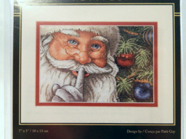 Dimensions SANTA'S SECRET Counted Cross-Stitch Kit - Brand New in Package! - $17.50