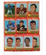 1971 Topps Cincinnati Bengals Team Set - $5.79