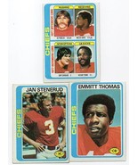 1978 Topps Kansas City Chiefs Team Set - $3.89