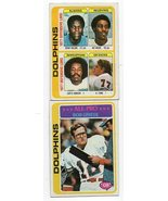 1978 Topps Miami Dolphins Team Set with Bob Griese - $5.79