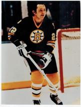 Brad Park Boston Bruins QP Vintage 8X10 Color Hockey Memorabilia Photo - $5.99