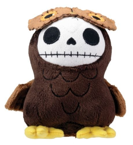 Primary image for Furry Bones: Brown Hootie Owl 3.5'' Plush Brand NEW!