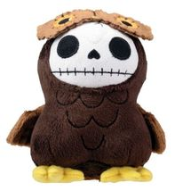 Furry Bones: Brown Hootie Owl 3.5'' Plush Brand NEW! - $18.99