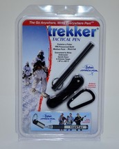 BLACK FISHER TREKKER SPACE PEN SCT725B - NEW IN PACKAGE WITH FREE SHIPPING - $32.00