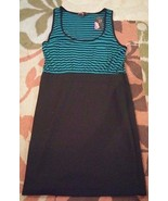 Forever 21 striped pencil skirt dress pocket sleeveless size L NWT - $27.83