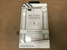 CASE MATE NAKED TOUGH IPHONE 6S Plus 7 Plus Military Strength Impact Pro... - $9.93