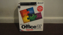 Microsoft Office 97 Professional Edition Upgrade. Good Condition. L@@K!! - $30.55