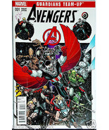 AVENGERS Guardians Team-Up 001 Marvel Collectors Corp. Variant Cover 201... - $6.64