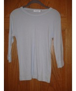 NWT Fresh Produce Top Hyacinth Soft Sheen Tee 3/4 Sleeve, Size L - $18.49