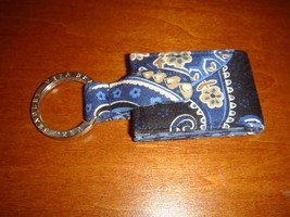 Vera Bradley Photo Key Chain Ring Windsor Navy NWOT - $19.59