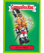2014 Garbage Pail Kids Series 2 GREEN BORDER *NUTTY NED* #82a ONLY 99 CE... - $0.99