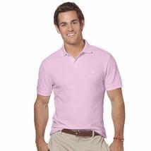 Chaps Ralph Lauren Polo Shirt-Blossom Pink-100% Cotton Soft Knit New-M $... - $22.74