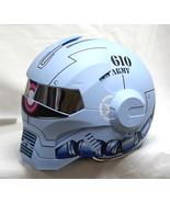 Masei 610 Gundam Zaku Matt Blue Motorcycle Helmet - $499.00