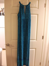 APT 9 LONG MAXI DRESS PRETTY LOUNGE BEACH WOMEN'S LARGE - NEW/NWT - ORIG... - $23.36