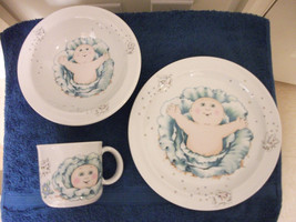 Royal Worcester China Cabbage Patch Kids Child's Dish Dinner Set - $23.36