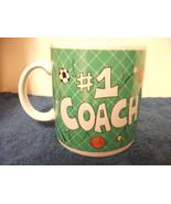 RUSS CERAMIC COFFEE MUG FOR #1 COACH NICE EXTRA LARGE  - $4.99