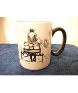AMISH COFFEE MUG CERAMIC NEW NICE - $4.99