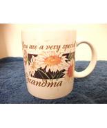 YOU ARE A VERY SPECIAL GRANDMA CERAMIC COFFEE MUG NEW  PRETTY - $4.99