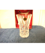 ROYAL CRYSTAL ROCK VASE MADE IN ITALY NEW - $18.68