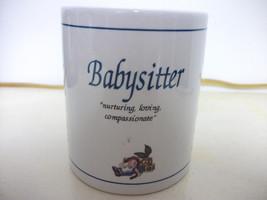 BABYSITTER CERAMIC COFFEE MUG - NEW/NIB - NICE GIFT - $4.99