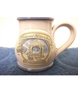 WEDGWOOD HISTORIC INNS CERAMIC POTTERY COFFEE MUG HAND THROWN NEW HOPE, ... - $9.49