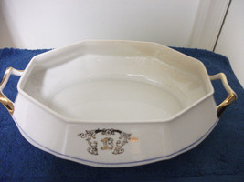 VINTAGE SALEM SV SEMIVITREOUS CHINA SERVING DIS... - $32.71