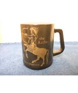 FEDERAL GLASS SAGITTARIUS ZODIAC COFFEE MUG - $4.99