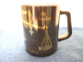 FEDERAL GLASS LIBRA ZODIAC COFFEE MUG - $4.99