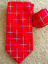 Robert Talbott Silk Tie Red Made USA Neck Tie Mens - $20.00