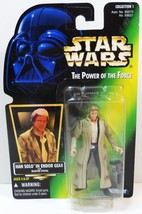 Star Wars Han Solo Endor Gear Power of the Force Ltd ed hologram card 1996 - $9.95