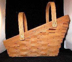 Longaberger Vegetable Basket 1988 Excellent - $42.00