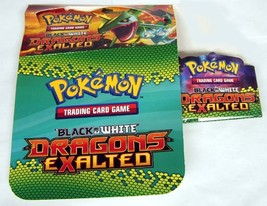 Dragons Exaulted Pokemon Empty Booster Box Display Boxes - $8.95