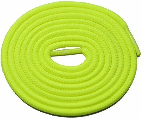"Primary image for 54"" NEON-YELLOW 3/16 Round Thick Shoelace For All Slip On Shoes"