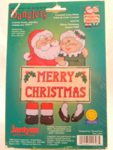 Janlynn Merry Christmas Danglers Counted Cross Stitch Kit   New In Package! - $12.50