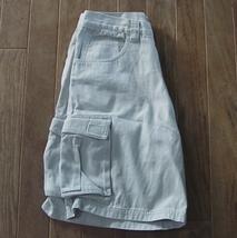 Quiksilver Mens Cargo Shorts Tan Khaki 30W - $17.95