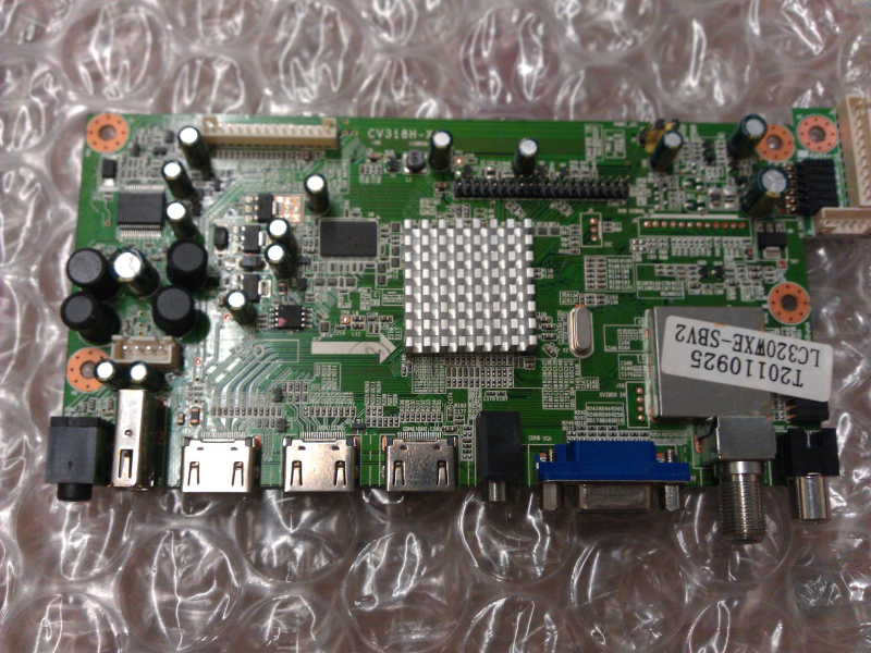 1109H1363 Main Board From Curtis LCD3235A LCD