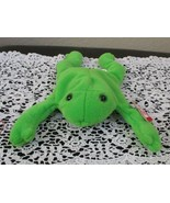 Ty Beanie Baby Legs the Frog 4th Generation Tag with 3rd Generation Tush... - $11.08