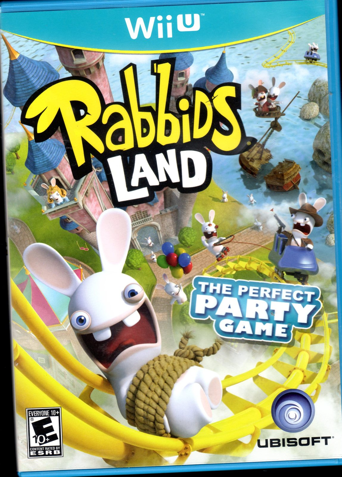 Rabbids Land The Perfect Party Wii Game