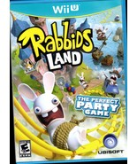 Rabbids Land The Perfect Party Wii Game - $11.50