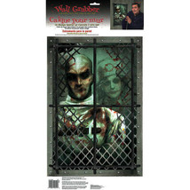 "Haunted Asylum Halloween Wall Grabber Decoration (23 3/4"" x 12 1/4) - $13.09"