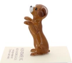 Hagen-Renaker Miniature Ceramic Dog Figurine Shelter Pup Begging image 3