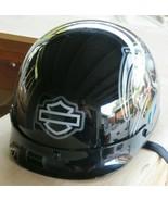 Harley-Davidson Helmet Gray Black Skulls Size S Small 55-56 cm Dot SM - $79.19