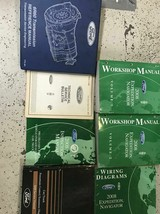2008 FORD EXPEDITION LINCOLN NAVIGATOR Repair Service Shop Manual Set PC... - $336.55