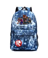 Roblox Theme Lightning Backpack Schoolbag Daypack Bookbag Family - $23.99