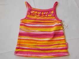 The Children's Place Baby Girl's Sleeveless Tank Top 6-9 Months Multi stripes - $13.35