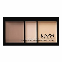 NYX Cream Highlight & Contour Palette - CHCP01 LIGHT - $8.95