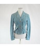 Light blue corduroy ANTHROPOLOGIE ELEVENSES long sleeve jacket 6 - $29.99