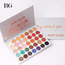 Beauty Glazed 35Color eyeshadow pallete Glitter Makeup Matte Eye shadow ... - $17.98
