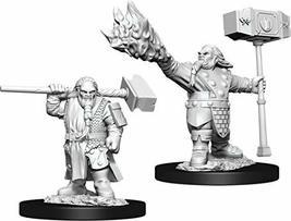 WizKids D&D Nolzurs Marvelous Upainted Miniatures: Wave 11: Male Dwarf Cleric - $8.99